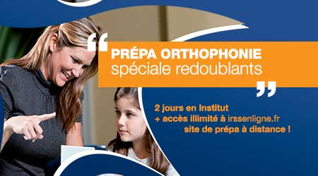 formation a distance orthophoniste