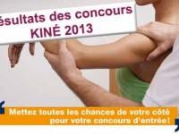 concours kiné 2014